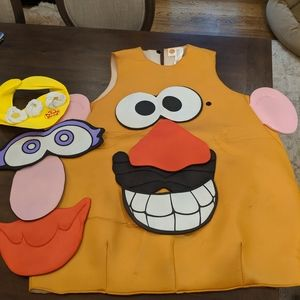 Mr.Potato Head Costume- One costume with two faces